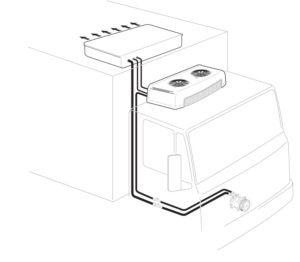 Схема рефрижераторного оборудования TR-3000, TR-3001, TR-3002, TR-3003.