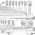 Схема соединений элементов системы управления двигателем ЗМЗ-4062.10.
