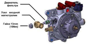 Редуктор OMVL CPR-LPGK901401.Руководство по обслуживанию.