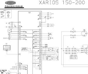 Схема Carrier Xarios 150-200