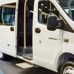 Схема электропривода подножки, сигнализации требования остановки, связи с водителем ГАЗель Next.