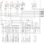 Схема блока реле и предохранителей в салоне, выключателя приборов и стартера ГАЗон Next.