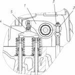 Регулировка зазоров в клапанном механизме двигателей семейства ЯМЗ-530 CNG.
