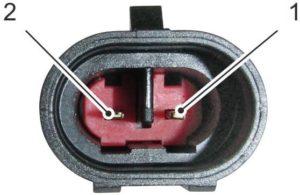 Датчик температуры отработавших газов ЯМЗ-53404, ЯМЗ-53604.