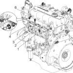 Назначение и обозначение датчиков на двигателях семейства ЯМЗ-530 CNG.