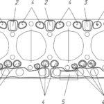 Корпусные детали двигателей семейства ЯМЗ-530 CNG.