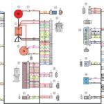 Схемы электрических соединений жгута проводов переднего автомобилей Лада Калина 11184.