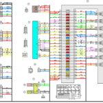 Схема электрических соединений жгута проводов панели приборовВАЗ 2170 (Приора).