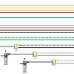 Схема соединений жгута проводов антиблокировочной системы тормозов ГАЗель Бизнес.