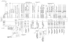 Схема электрическая принципиальная двигателя ЯМЗ-53601 с системой бортовой диагностики.