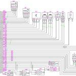 Схема электрическая принципиальная управления двигателем Cummins Е4 автомобиля Валдай.
