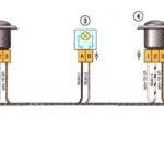 Соединения жгута проводов заднего бампера Лада Веста.