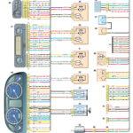 Схема соединений жгута проводов панели приборов ГАЗель Бизнес.