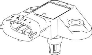 Датчик давления и температуры наддувочного воздуха двигателей ЯМЗ-5340, ЯМЗ-536.