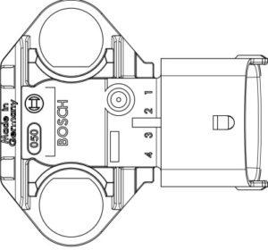 Датчик давления и температуры масла двигателей ЯМЗ-5340, ЯМЗ-536.
