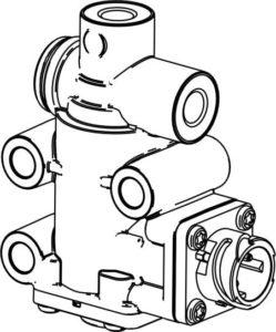 Система рециркуляции отработавших газов двигателей ЯМЗ-5340, ЯМЗ-536.
