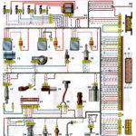 Схема соединений системы управления двигателем ВАЗ-2111, -2112 с распределённым впрыском топлива под нормы токсичности Евро-2 (контроллеры М1.5.4N, «Январь 5.1») автомобилей ВАЗ-21102, -21103 -2111, -2113, -2112, -21122.