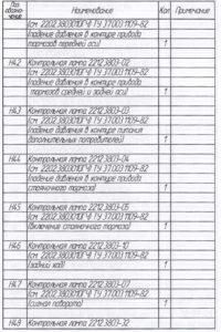 Перечень элементов изображённых на схемах автобуса ЛиАЗ-621321.
