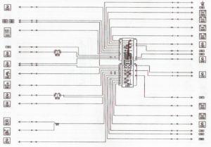 Комбинация приборов (антиблокировочная система) Лада Ларгус.