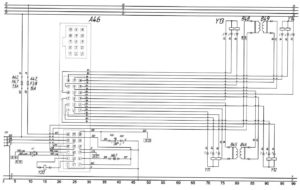 "Схема системы ABS – ""6 Premium"" автобуса ЛиАЗ-529222."