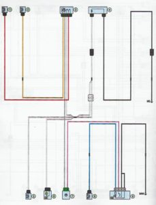 Схема электрообогрева заднего стекла Лада Ларгус.