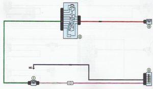 Схема подключения противотуманных фар и заднего противотуманного фонаря Лада Ларгус.