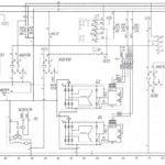 Схема системы электроснабжения и пускаавтобуса ЛиАЗ-621321.
