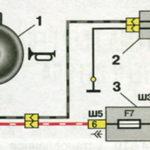Схема включения звукового сигнала автомобилей семейства ВАЗ-2110