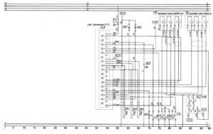 Схема подъёма автобусаЛиАЗ-529222.