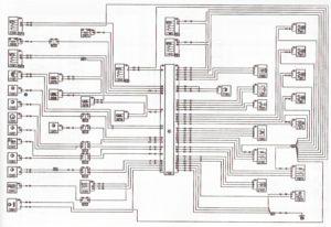 ЭСУД автомобиля с двигателем K4M (рулевое управление с усилителем) Лада Ларгус.
