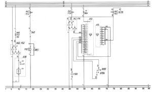 Схема осушителя воздуха, вентилятора кабины, вентилятора салона и кондиционера Aerosphere Midi 1840автобуса ЛиАЗ-529222.