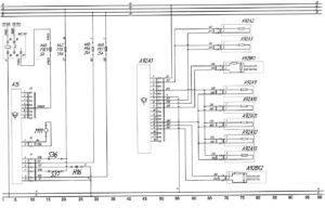 Схема жидкостного подогревателя Termo 350 и системы пожаротушения АСОТП автобуса ЛиАЗ-529222.