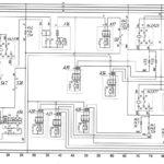 Схема отопления салона, фронтального отопителя и электроуправляемых зеркалавтобуса ЛиАЗ-529222.