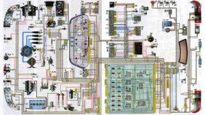 Схема электрооборудования ВАЗ-2110.