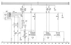 Схема системы подогрева всасываемого воздуха и топливных фильтров автобуса ЛиАЗ-529222.