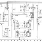 Схема системы электроснабжения и пуска автобуса ЛиАЗ-529222.