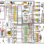 Схема электрооборудования Лада Нива (карбюраторная).