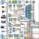 Схема электрооборудования автомобиля ВАЗ-2111 с кузовом «универсал» (кроме узлов и деталей систем впрыска).