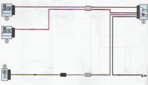 Схема подключения топливного насоса и датчика уровня топлива Лада Ларгус.