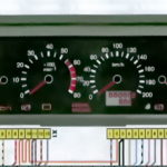 Данные контрольных приборов и их датчиковавтомобилей семейства ВАЗ-2110.