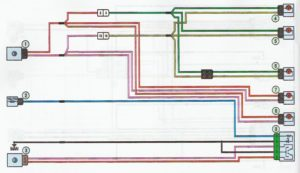 Схема системы центральной блокировки замков Лада Ларгус.