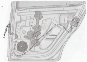 Расположение элементов электрооборудования, жгутов проводов Лада Ларгус.
