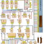 Схема соединений системы управления двигателем ВАЗ-21124 с распределённым впрыском топлива под нормы токсичности Евро-2 (контроллер М7.9.7).