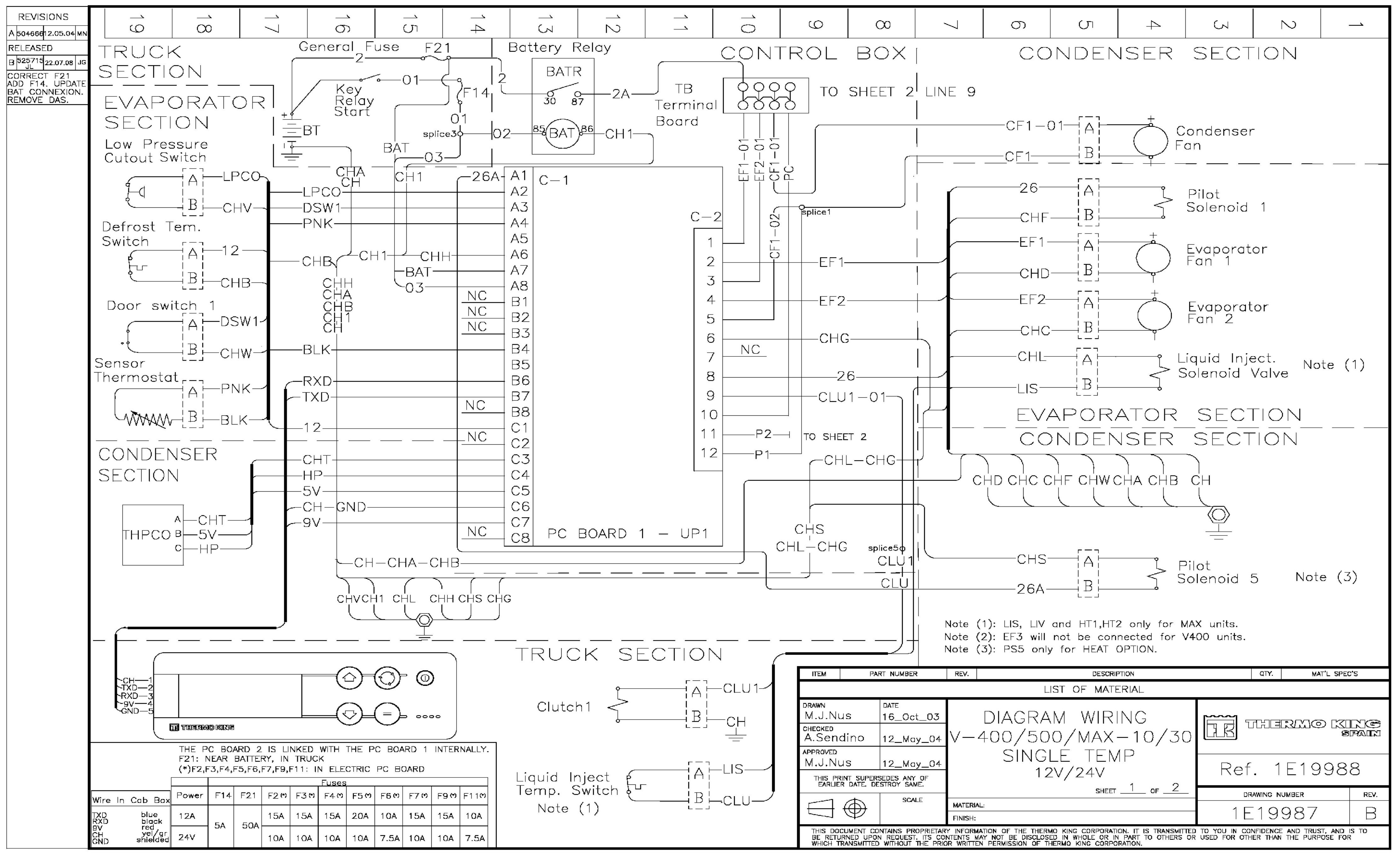 U0421 U0445 U0435 U043c U044b Thermo King Dsr Microprocessor Controller V