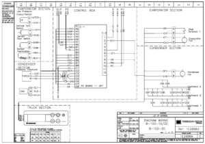 Схемы Thermo King DSR Microprocessor Controller B-100.