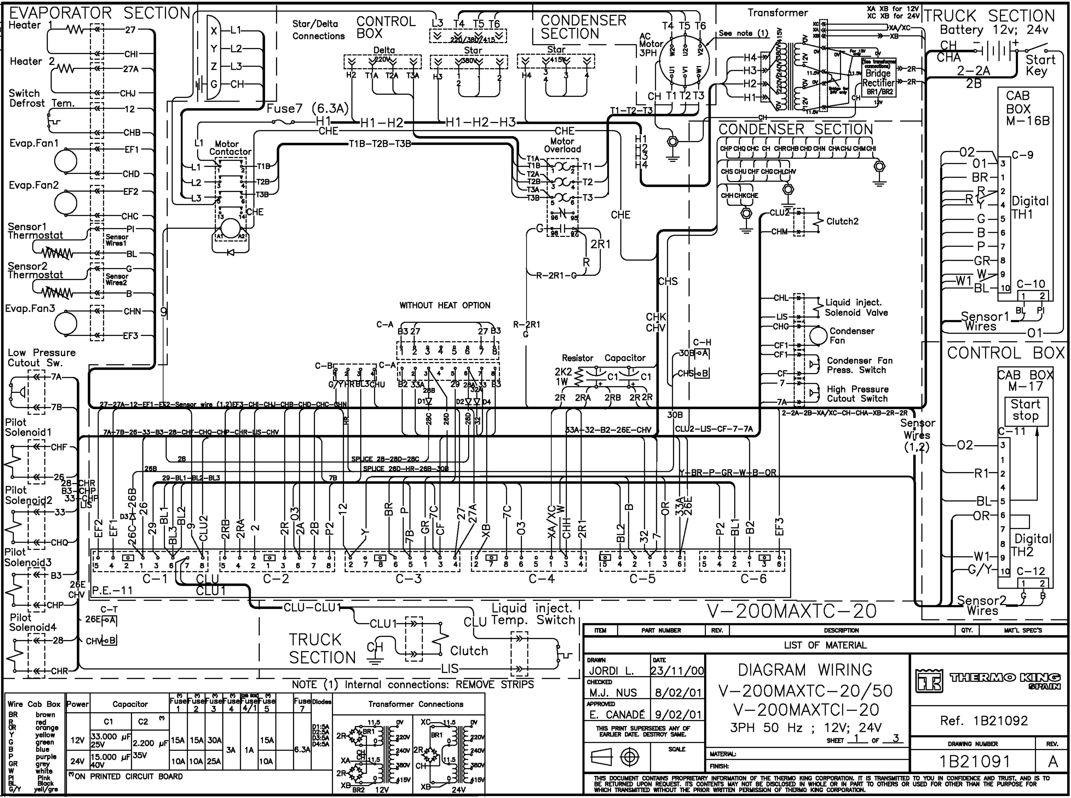 Thermo King V300 Wiring Diagram from almarka.ru