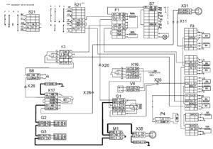 Функциональная схема электроснабженияавтомобилей КамАЗ