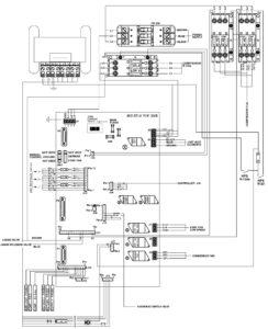 CRR DF MPC2000 Main Relay Board Electrical Diagram.