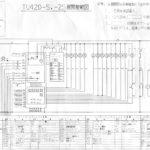 Схемы Mitsubishi TU 42D, TU 73D.