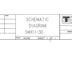 Схемы Thermo King SMX II-30, SMX II-C/S.